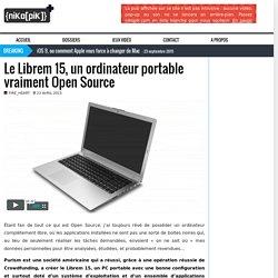 Le Librem 15, un ordinateur portable vraiment Open Source