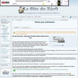 Vision par ordinateur - Général - Les tutoriels - Tutoriels concernant la programmation en général