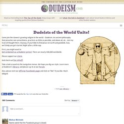 Dudeism - Ordination by the Religion of The Big Lebowski