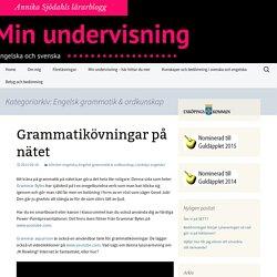 Engelsk grammatik & ordkunskap