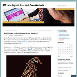 IKT och digitalt lärande i Örnsköldsvik
