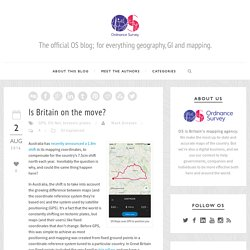 ***** Is Britain on the move? - Ordnance Survey Blog