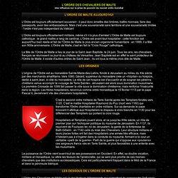 ordre des chevaliers de Malte