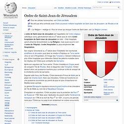 Ordre de Saint-Jean de Jérusalem