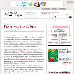 Face à l'ordre médiatique, par Henri Maler