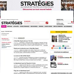 L'Oréal Men Expert - Stratégies.fr