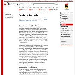 Örebros historia