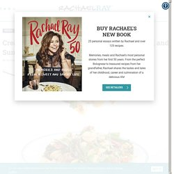 Creamy Orecchiette with Hot Sausage, Broccoli and Sun-Dried Tomatoes - Rachael Ray