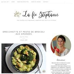 Orecchiette et pesto de brocoli aux amandes - La Fée Stéphanie