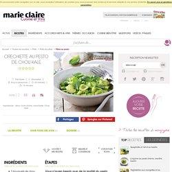Orechiette au pesto de kale