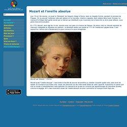 Mozart et l'oreille absolue