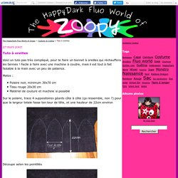 Tuto à oreilles - The HappyDark Fluo World of Zoopy