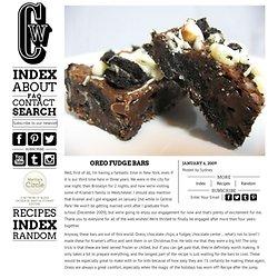 Oreo Fudge Bars