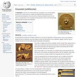 Granulat (orfebreria)