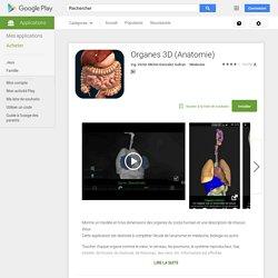 Organes 3D (Anatomie)