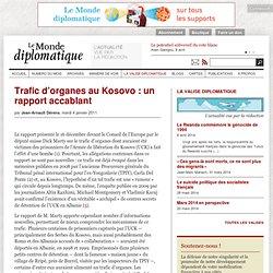 Trafic d'organes au Kosovo
