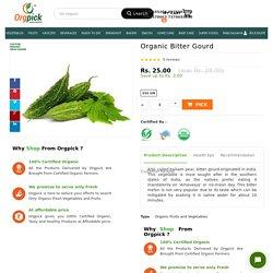 Buy Organic Bitter Gourd