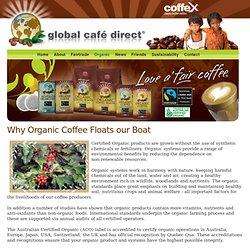 Why Organic Coffee? - Global Café Direct