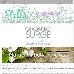 Organic Surge Cruelty Free Haircare - Stella