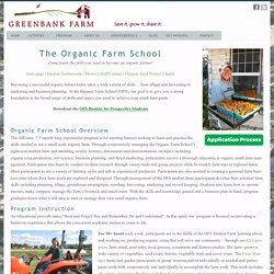 Organic Farm School