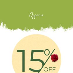 Avail 15% Off on First Purchase