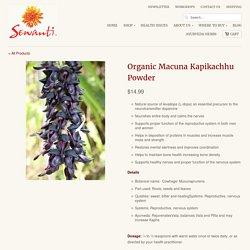Organic Macuna Kapikachhu Powder