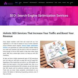 Organic Search Engine Optimization (SEO) Services company