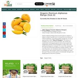 Buy Organic Premium Alphonso Mango(Size A) Online
