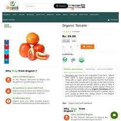 Order Fresh Organic Tomato Online