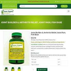Joint Pain & Arthritis Supplements