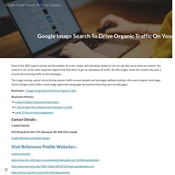 Google Image Search To Drive Organic Traffic On Your Website - eGoodMedia