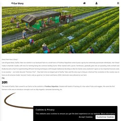 Know the Success Stories of Organic Foods & Products Farm by Earthy Tales