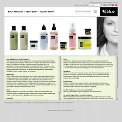 Organic cosmetic products - About Sóley