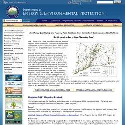 Organics Mapping Project