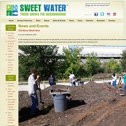 News and Events - Sweet Water Organics - Urban Fish and Vegetable Farm - Milwaukee, WI