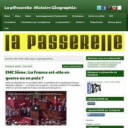 organigramme Archives - La p@sserelle -Histoire Géographie-
