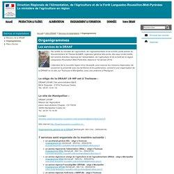 Organigrammes - DRAAF Languedoc-Roussillon Midi-Pyrénées