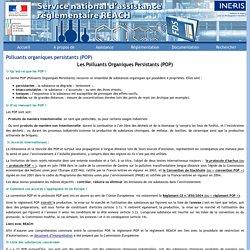 INERIS - Polluants organiques persistants (POP).