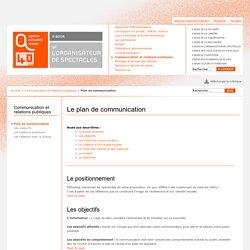 E-book de l'organisateur de spectacles - Le plan de communication - l'Agence culturelle d'Alsace