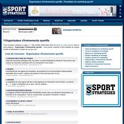 Organisateur d'événements sportifs - Prestataire du marketing sportif