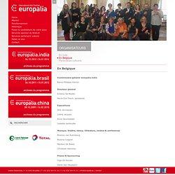 En Belgique - Organisateurs - Europalia