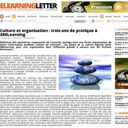 Culture et organisation : trois ans de pratique à 360Learning