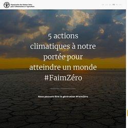 ONU pour l'alimentation et l'agriculture