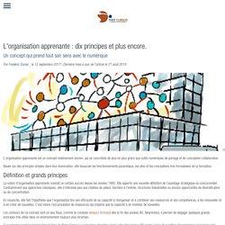 L'organisation apprenante : dix principes et plus encore.