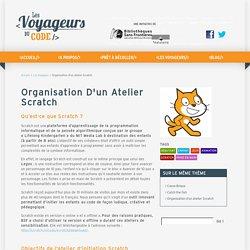 Organisation d'un atelier Scratch - Voyageurs du code