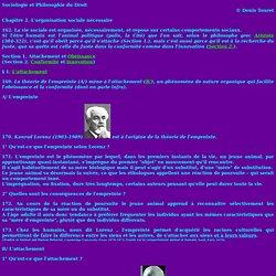 Organisation sociale : Attachement et obéissance, conformité et innovation