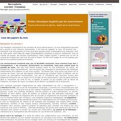 Coaching organisation avec Bernadette Lecerf-Thomas - Papiers du mois