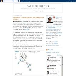 Pearltrees : l'organisation d'une bibliothèque ouverte