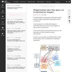 Organisation des flux pour un e-commerce moyen