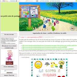 organisation de classe : conflits et bonheurs, les outils